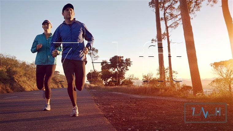 دویدن در هنگام صبح