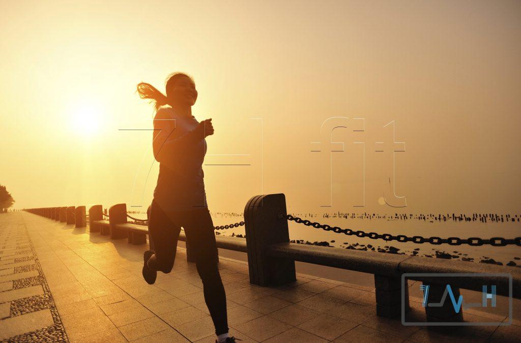 دویدن در هنگام عصر