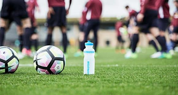 تمرین فوتبالیست ها