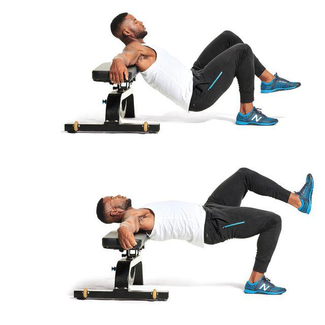 تمرین برای فرم دهی عضلات باسن