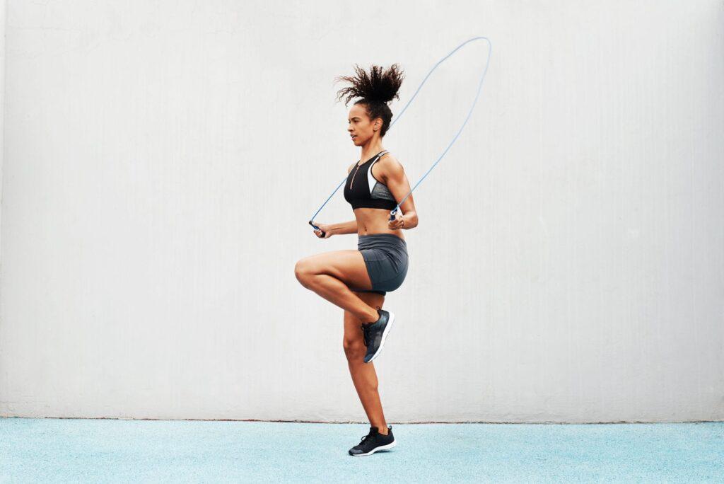 طناب زدن برای ورزشکارن حرفه ای