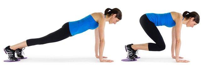 حرکت اسلایدر برای زیر شکم