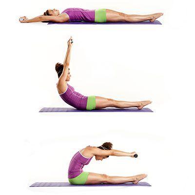حرکت رول شکم در سه مرحله