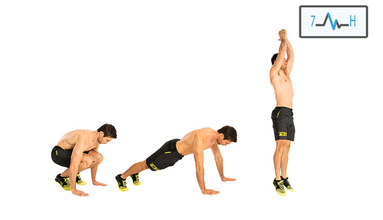 تمرین برپی در سه مرحله از تمرینات اینتروال