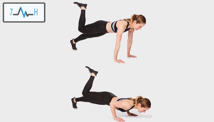 تمرین پیلاتس برای پشت بازو